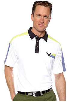 Callaway Golf Print Block Tech Polo