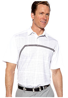 Callaway Golf Print Sublimation Plaid Polo