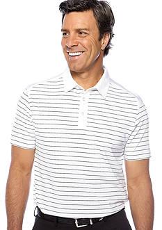 Callaway® Golf Stripe Mesh Polo