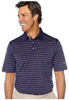 Callaway Golf Stripe Mesh Polo