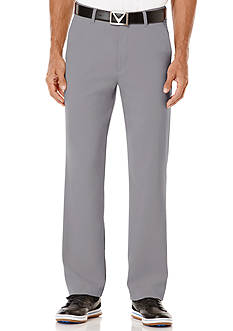 Callaway Golf Classic Fit Flat Front Pants