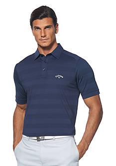 Callaway® Golf Chevron Stripe Polo