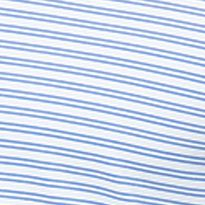 Mens Short Sleeve Polo Shirts: Magnetic Blue Callaway Golf Opti-Genic Fine Stripe Short Sleeve Polo
