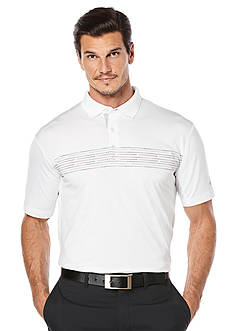 Callaway Golf Dotted Chest Print Flash Polo Shirt