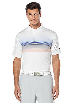Callaway Golf Printed Chest Fashion Polo Shirt