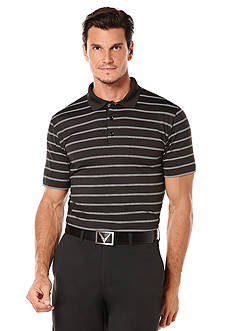 Callaway Golf Core Vented Stripe Polo Shirt