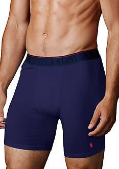 Polo Ralph Lauren Supreme Comfort Long-Leg Boxer Brief 2-Pack