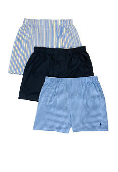 Polo Ralph Lauren 3PK Classic Cotton Woven Boxers