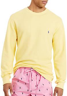 Polo Ralph Lauren Waffle-Knit Crew Neck Shirt