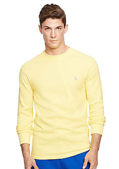 Polo Ralph Lauren Long-Sleeved Thermal Crew Neck