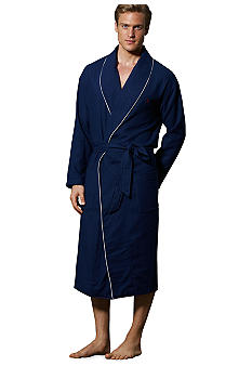 Polo Ralph Lauren Cruise Navy Cotton Robe