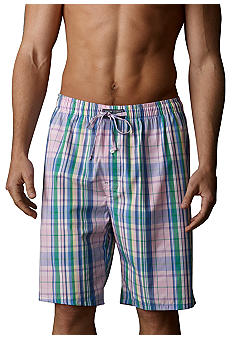 Polo Ralph Lauren Plaid Woven Sleep Shorts