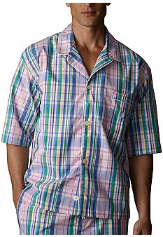Polo Ralph Lauren Plaid Woven Camp Shirt