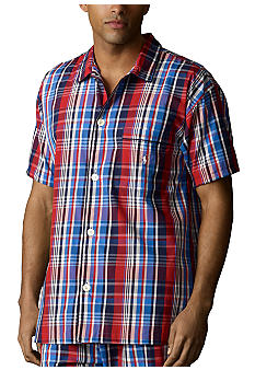 Polo Ralph Lauren Woven Camp Sleep Shirt