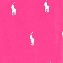 guys pajamas: Active Pink Polo Ralph Lauren Pony Print Woven Lounge Pants