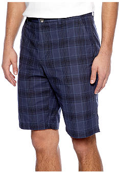 Calvin Klein Slub Plaid Shorts