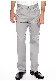 Calvin Klein Stretch Cotton Sateen Pants