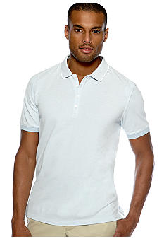 Calvin Klein Oxford Pique Polo Knit
