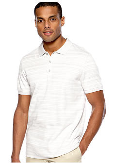 Calvin Klein Three-Button Stripe Polo Knit