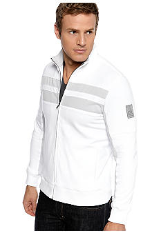 Calvin Klein French Terry Mock Full-Zip