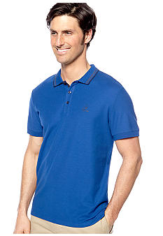 Calvin Klein Three-Button Pique Polo Knit