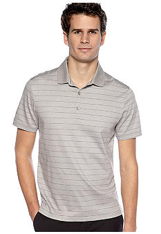 Calvin Klein Stripe Interlock Polo Knit
