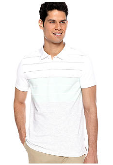 Calvin Klein Engineered Pique Polo Knit