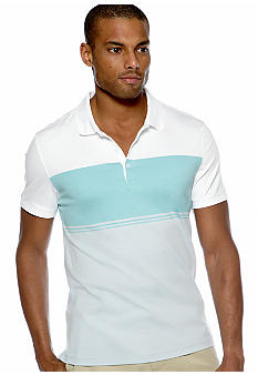Calvin Klein Engineered Interlock Polo Knit
