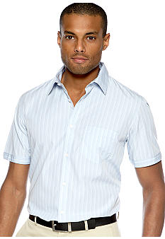 Calvin Klein End-on-End Multi Stripe Poplin Shirt