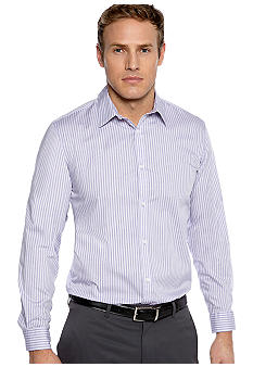 Calvin Klein End-on-End Stripe Poplin Shirt