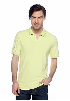 Calvin Klein Three-Button Pique Knit Polo