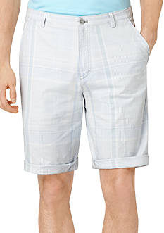 Calvin Klein Yarn Dyed Plaid Slub Short