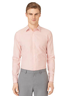 Calvin Klein Slim-Fit Stripe Poplin Shirt