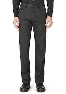 Calvin Klein Textured 5-Pocket Pants