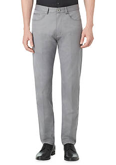 Calvin Klein Slim Herringbone 5-Pocket Pant