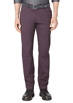 Calvin Klein Sateen Bowery Casual Pants