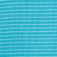 Shirts For Guys: Short Sleeve: Pagoda Blue Calvin Klein Short Sleeve Striped Polo Shirt