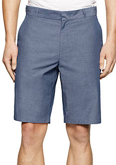 Calvin Klein 9-In. Tech Denim Side Tab Shorts