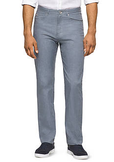 Calvin Klein Slub Twill Five-Pocket Pants