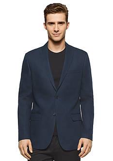 Calvin Klein Linen Herringbone Jacket