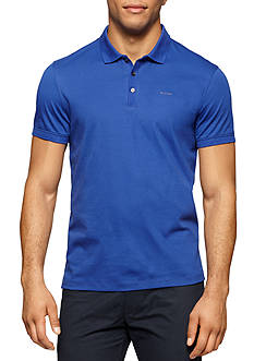 Calvin Klein Liquid Cotton Short Sleeve Jersey Polo Shirt