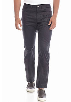 Calvin Klein 5-Pocket Cotton Heather Twill Pants