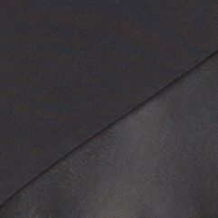 Calvin Klein Men Sale: Black Calvin Klein Short Sleeve Jersey Leather Fabric Blocked T-Shirt
