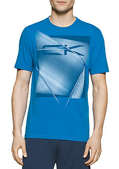Calvin Klein Shattered Box Logo Graphic Tee