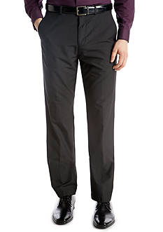 Calvin Klein Straight Fit Flat Front Dress Pants