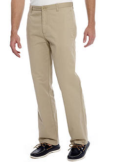 Calvin Klein Straight Fit Dylan Flat Front Pants