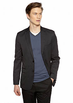 Calvin Klein Slim Fit Tick Stripe Blazer