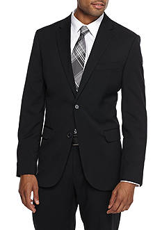 Calvin Klein Regular-Fit Non-Iron Solid Sportcoat
