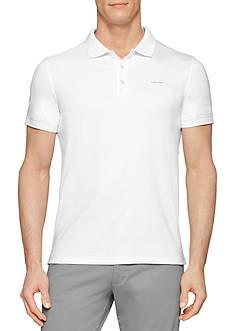 Calvin Klein Regular-Fit Short Sleeve Polo Shirt