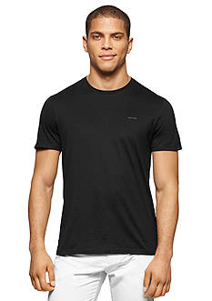 Calvin Klein Short Sleeve Pima Cotton Crew Neck Jersey T-Shirt